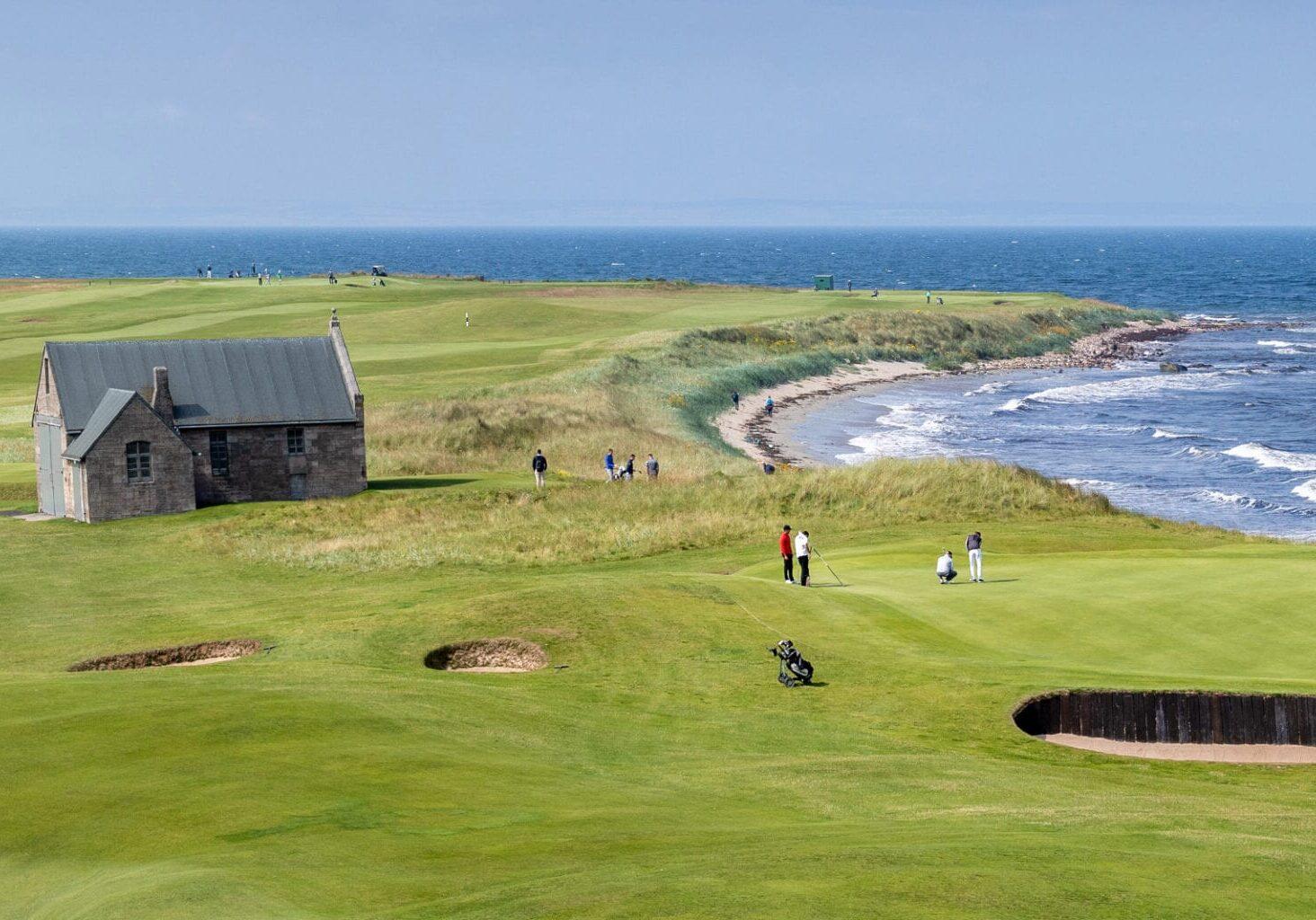 Crail Golf - Balcomie